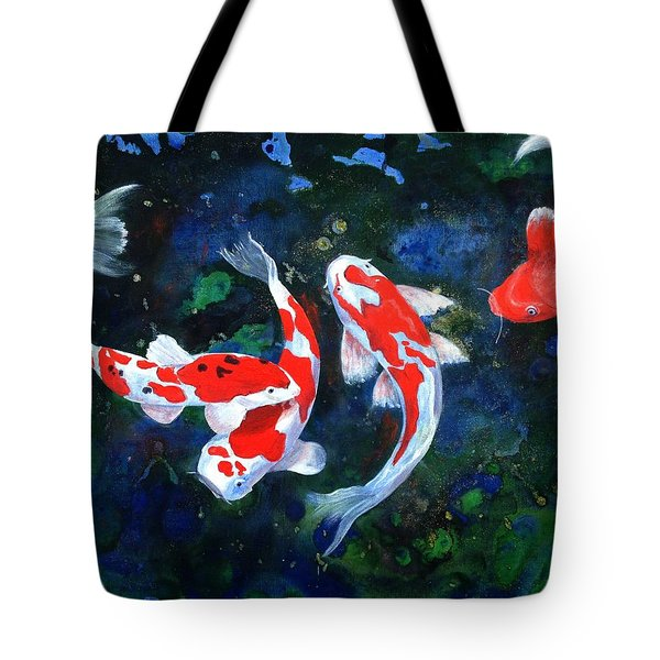 Swimming In Peace Tote Bag