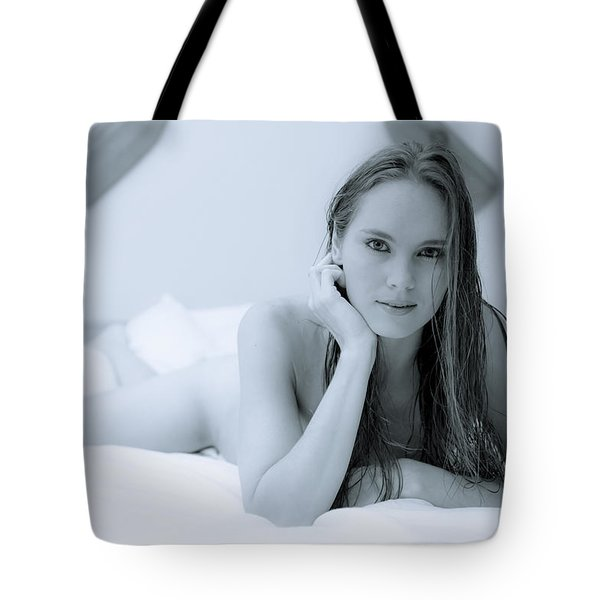 Swimming In Your Eyes Tote Bag