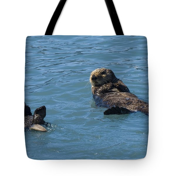 Swimming Lesson Tote Bag by Harold Piskiel