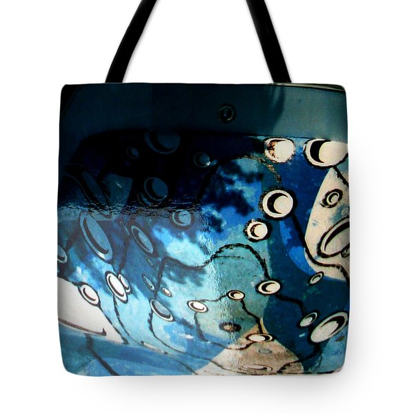 Swimming Pool Mural 2 Tote Bag by Rachel Christine Nowicki