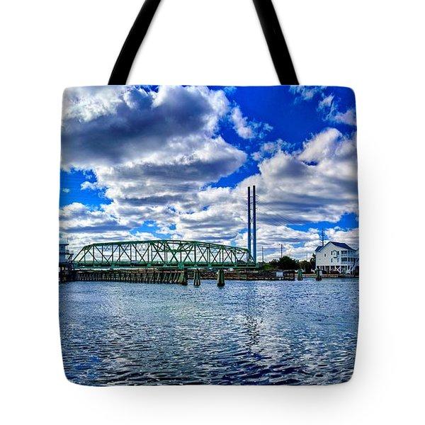 Swing Bridge Heaven Tote Bag