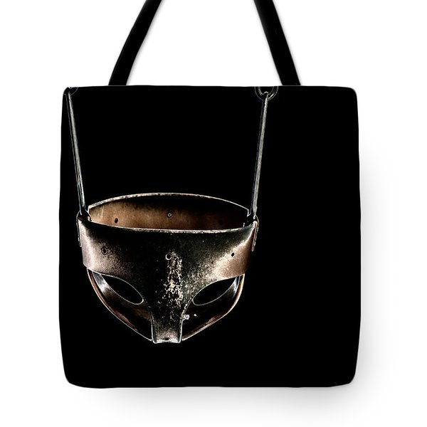 Swing In Black Tote Bag