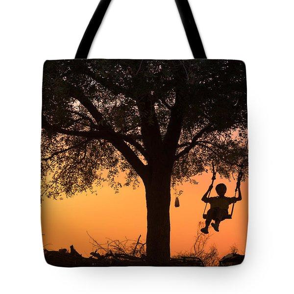 Swing Tote Bag by Marji Lang