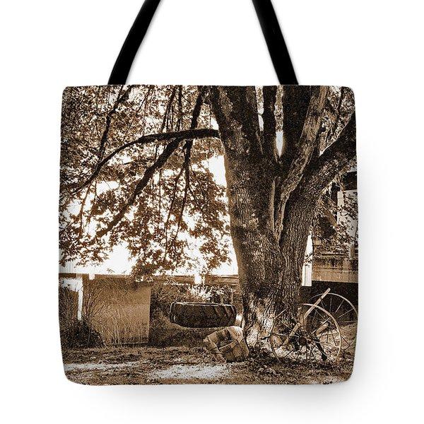 Swing Time Tote Bag