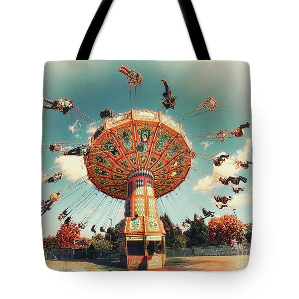 Tote Bag featuring the photograph Swingin' by Mark Miller