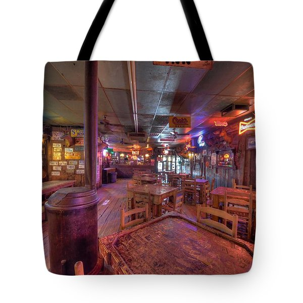 Swinging Doors At The Dixie Chicken Tote Bag