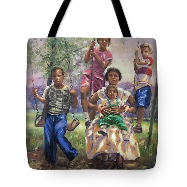 Swinging In The Shade Tote Bag