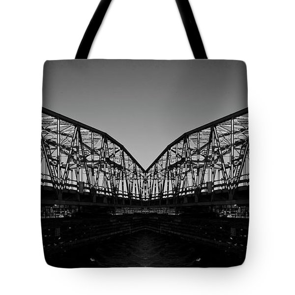 Swinging Reflection Tote Bag by Betsy Knapp