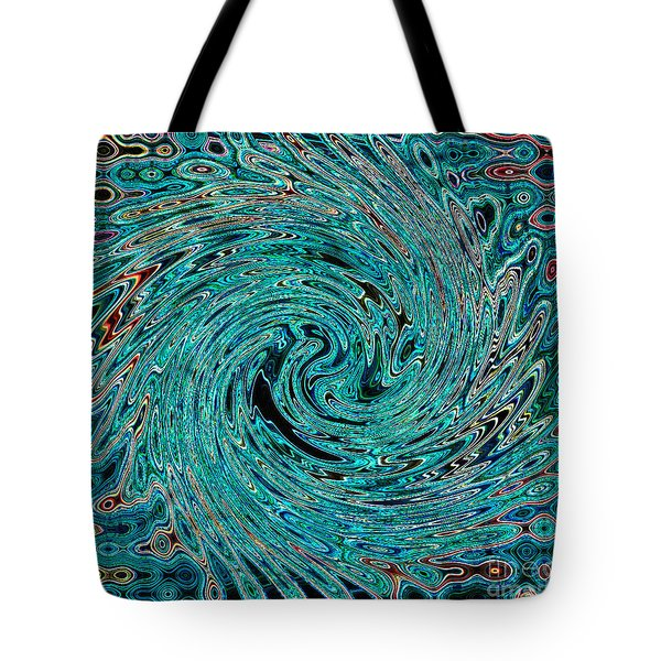 Swirl Abstract 4 Tote Bag