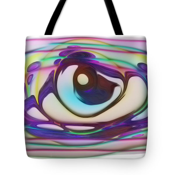 Swirl And Blend Of Color And Form Tote Bag