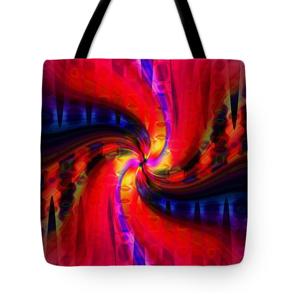 Swirl Delight Tote Bag by Cherie Duran