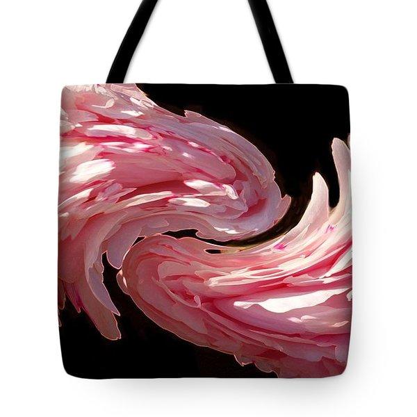 Swirl Tote Bag by Kathleen Struckle