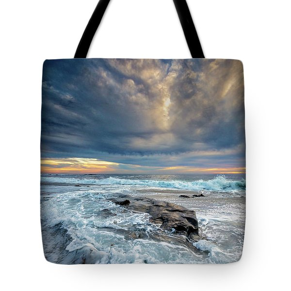 Swirl Tote Bag by Peter Tellone