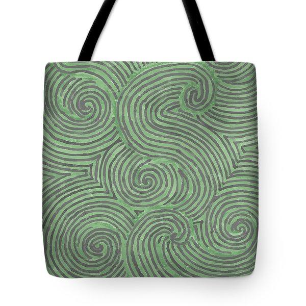 Swirl Power Tote Bag by Jill Lenzmeier