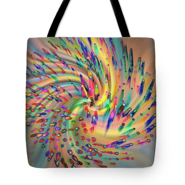 Swirligigs Tote Bag
