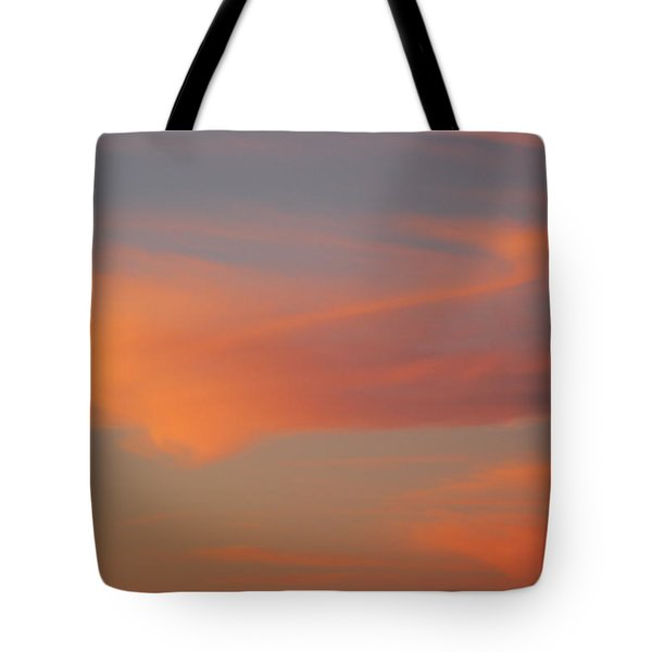 Swirling Clouds In Evening Tote Bag