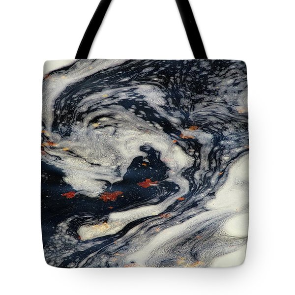 Swirling Current Tote Bag