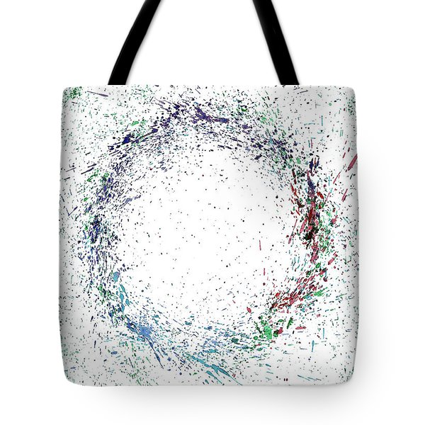 Swirling Of Life Tote Bag