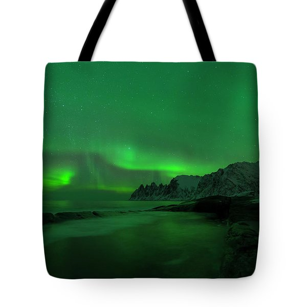 Swirling Skies And Seas Tote Bag