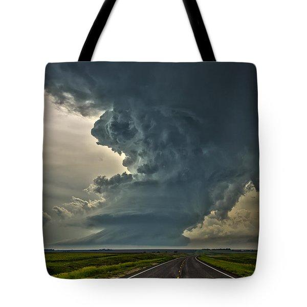 Swirling Skies Tote Bag