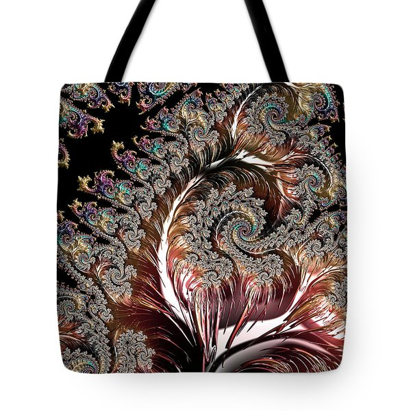 Swirls And Roots Tote Bag