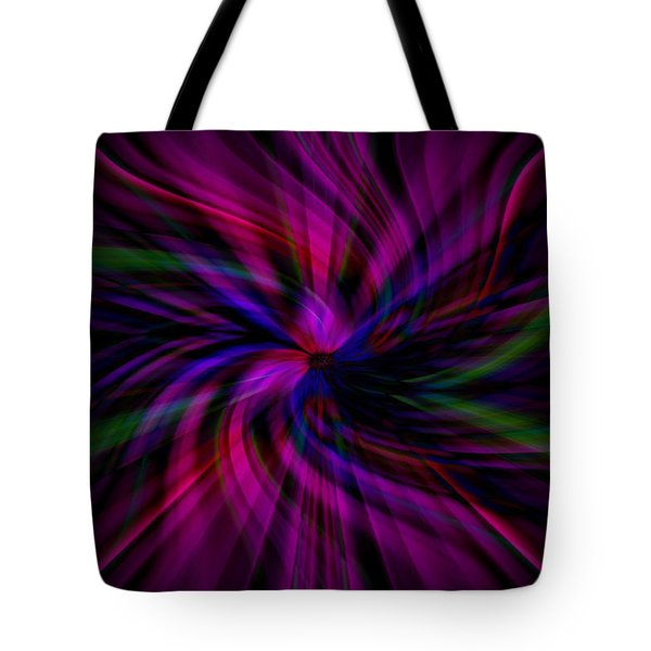 Swirls Tote Bag by Cherie Duran