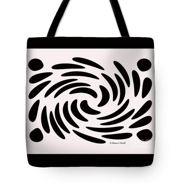 Swirls N Dots 56 Tote Bag