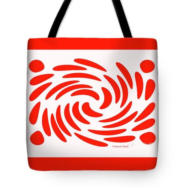 Swirls N Dots S2 Tote Bag