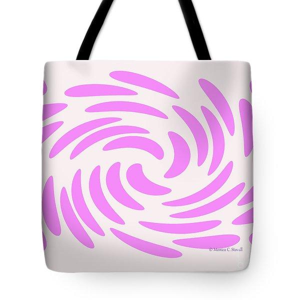 Swirls N Dots S4 Tote Bag