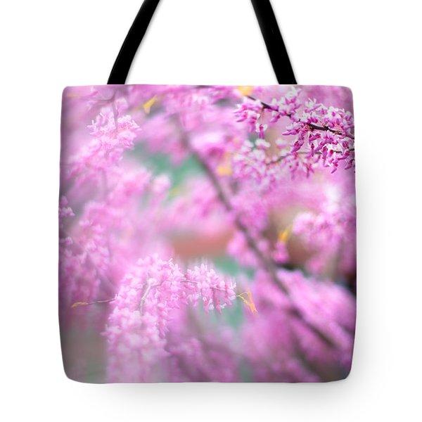 Swirls Of Spring Tote Bag
