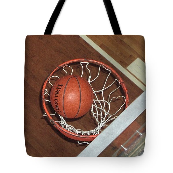 Swish Tote Bag by Mike Martin