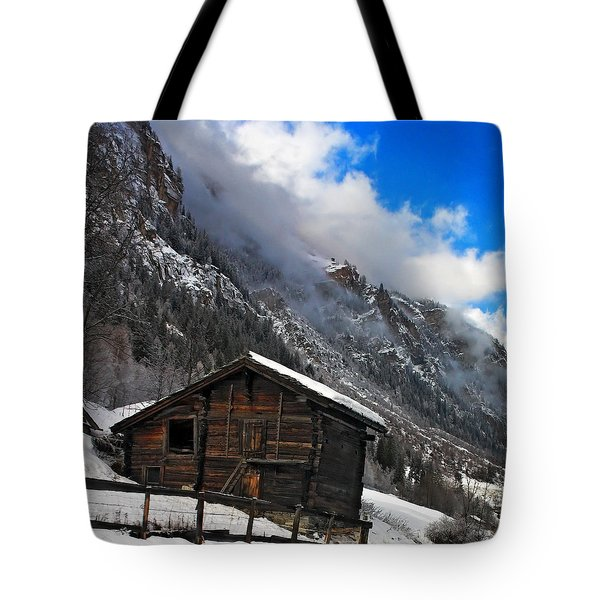 Swiss Barn Tote Bag