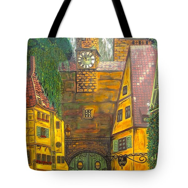 Swiss Birthday Party Tote Bag by V Boge