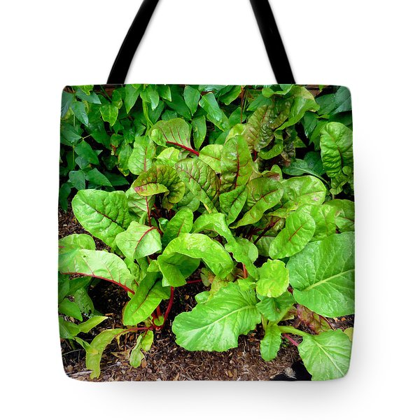 Swiss Chard In A Vegetable Garden 2 Tote Bag