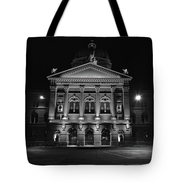 Swiss Parliament Building Tote Bag