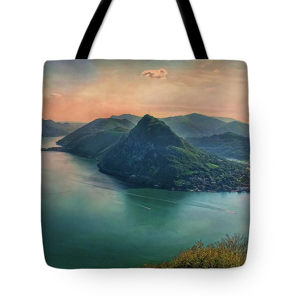 Tote Bag featuring the photograph Swiss Rio by Hanny Heim