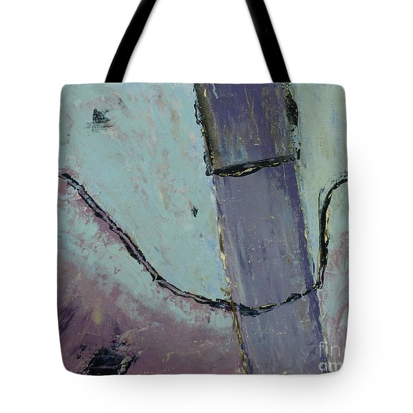 Tote Bag featuring the painting Swiss Roof by Paul McKey