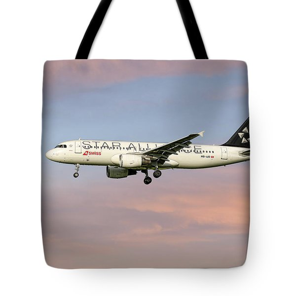 Swiss Star Alliance Livery Airbus A320-214 2 Tote Bag