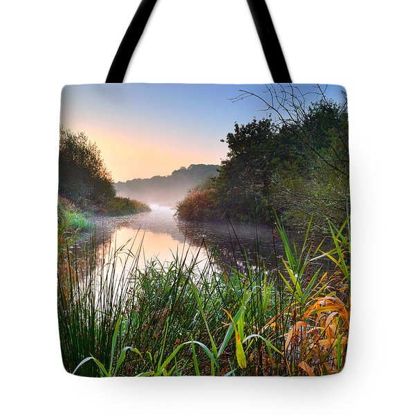 Swiss Valley Reservoir Tote Bag