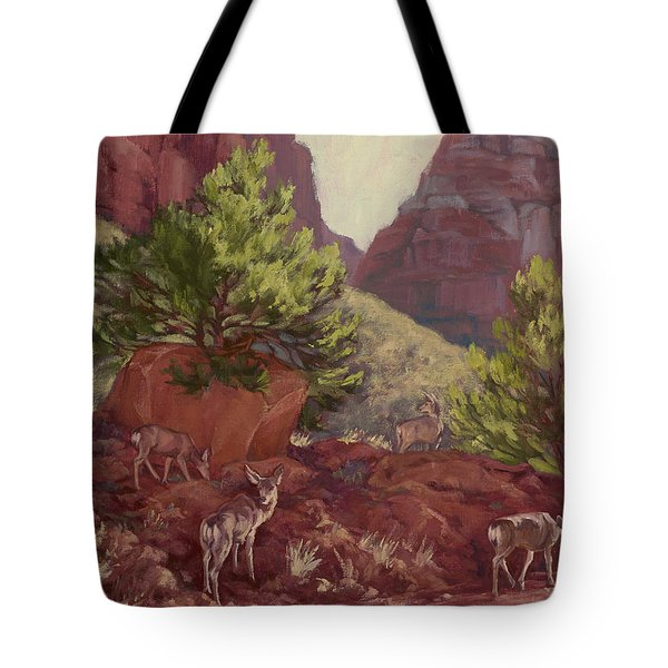 Switchback Stop For Wildlife Tote Bag