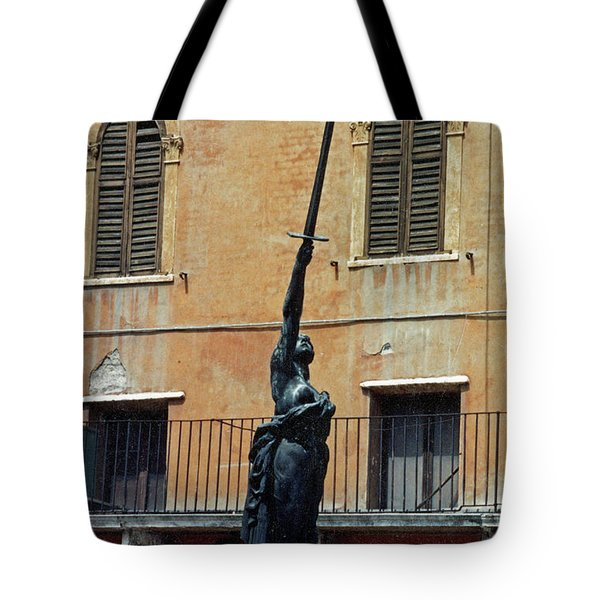 Sword Of Freedom Tote Bag