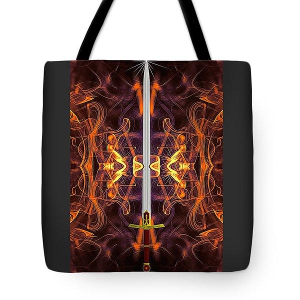 Sword Of Tomorrow Tote Bag
