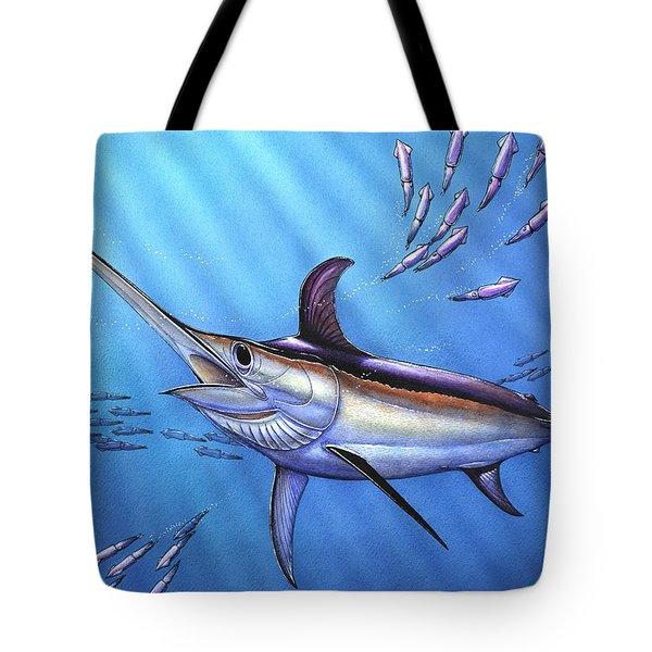 Swordfish In Freedom Tote Bag