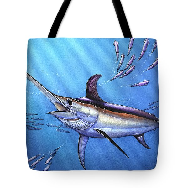 Swordfish In Freedom Tote Bag