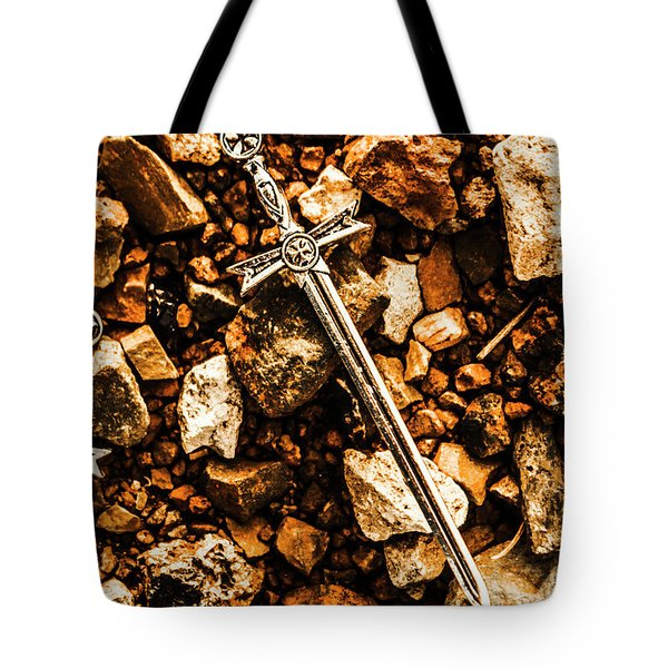 Swords And Legends Tote Bag