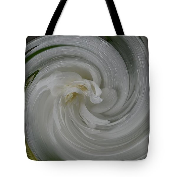 Swrling Rose Tote Bag