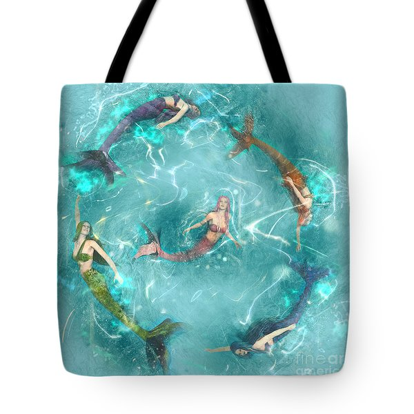 Sychronized Swimming Tote Bag