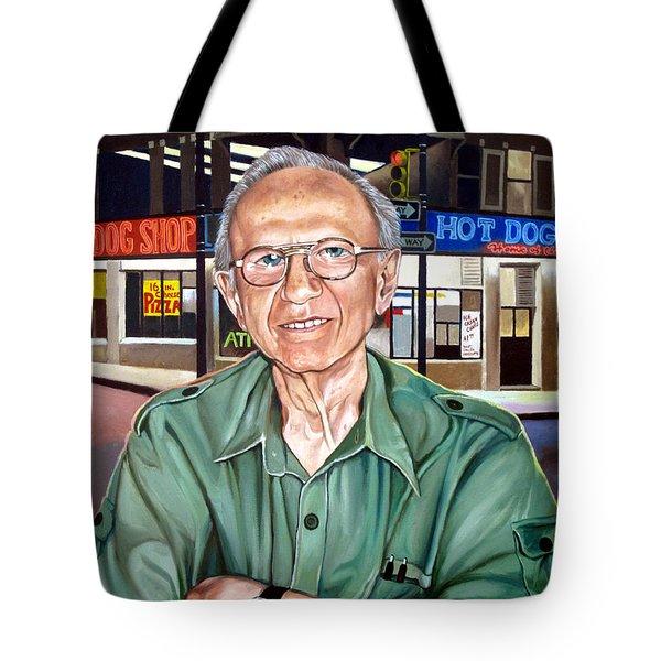 Syd Simon  Tote Bag