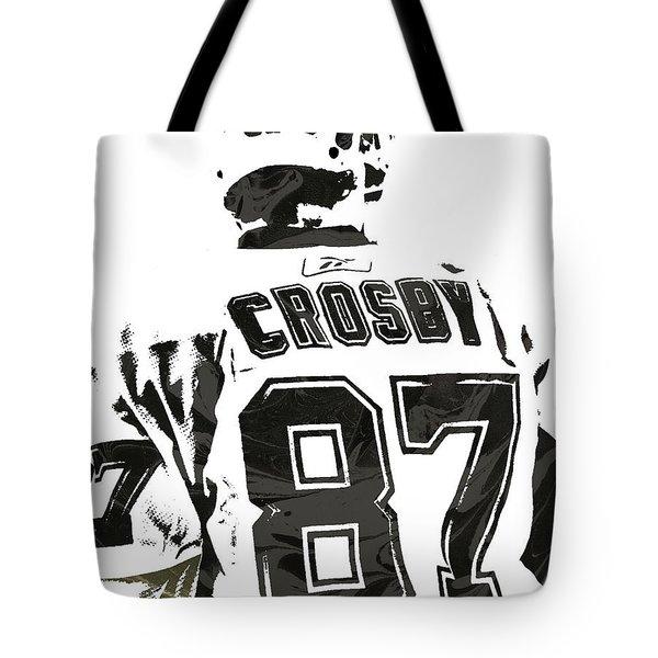 Sydney Crosby Pittsburgh Penguins Pixel Art 2 Tote Bag