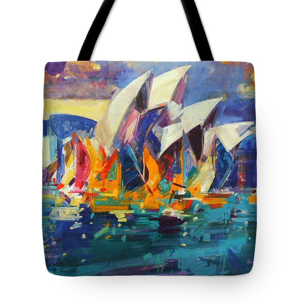 Sydney Flying Colours Tote Bag
